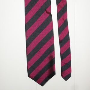 Jos. A. Bank Red and Black Neck Tie